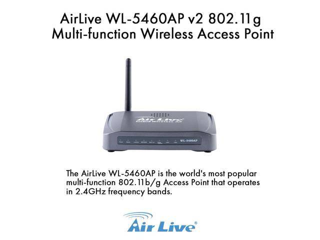 Airlive WL-5460AP 802.11g Multi-function Wireless Access Point