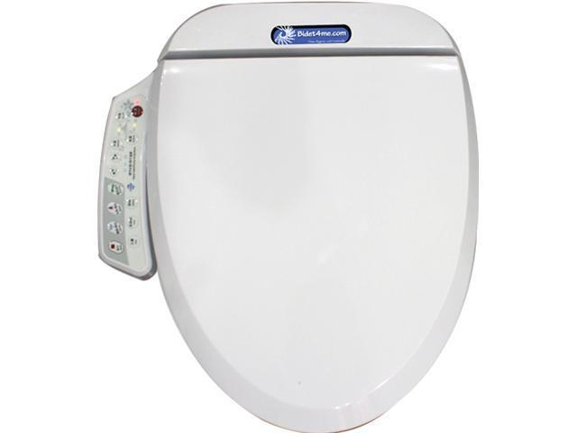 Bidet4Me E-200A Electronic Bidet Seat with Dryer and Deodorizer - White