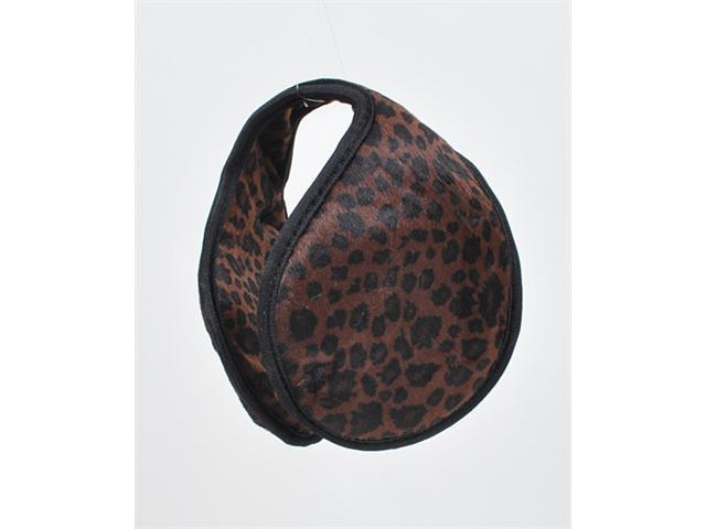 New Brown 100% Polyester 3.75 Inch diameter Ear Warmers EM1060