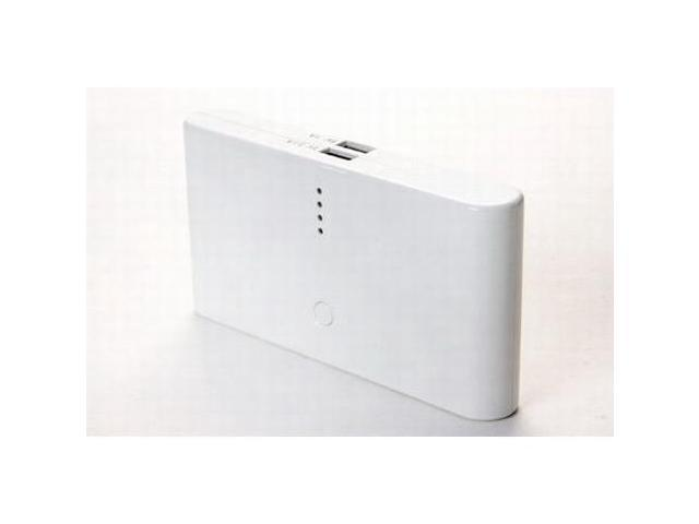 OKIT Classic White Universal Portable Power Bank Mobile Power 12000mAh