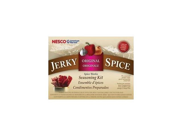 Nesco BJ-18 Jerky Spice Works, Original Flavor, 18 Count, 19.8 Ounce