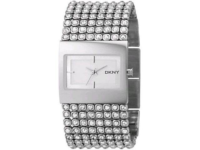DKNY Mesh Crystal Bracelet Ladies Watch NY4661
