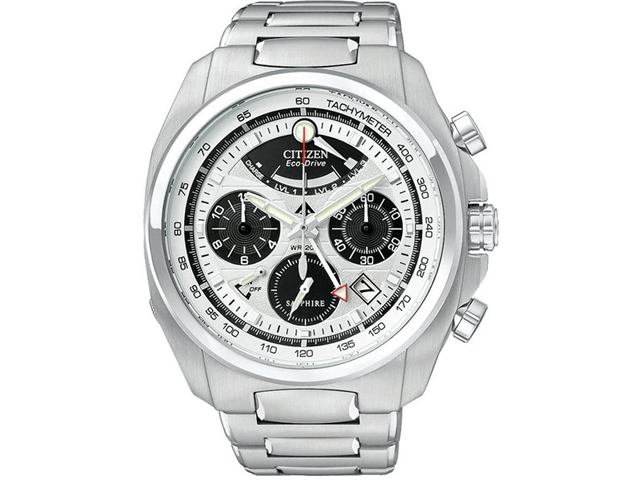 Citizen Eco-Drive Calibre 2100 Silver Dial Men's watch #AV0050-54A