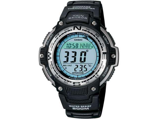 Casio SGW100-1V Men's Digital Compass Twin Sensor Sport Watch