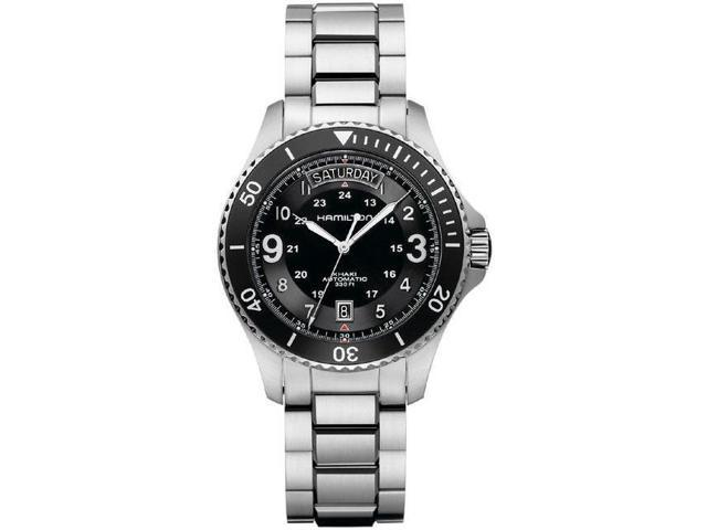 Hamilton Khaki King Scuba Black Dial GMT Automatic Mens Watch H64515133