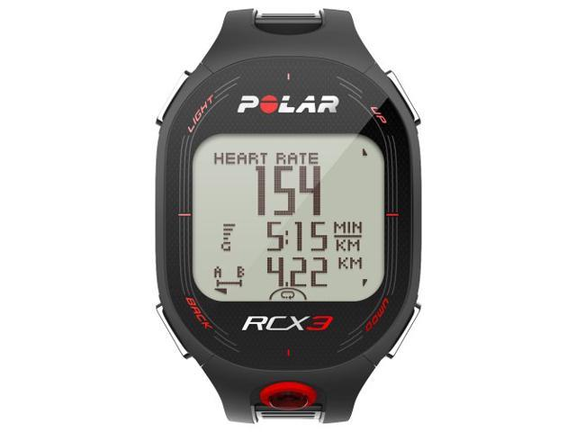 Polar Training Feedback Heart Rate Monitor Watch RCX3 BLACK