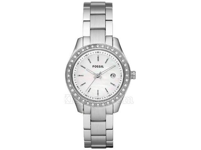 Fossil Stella Mini Mother of Pearl Dial Ladies Watch ES2998
