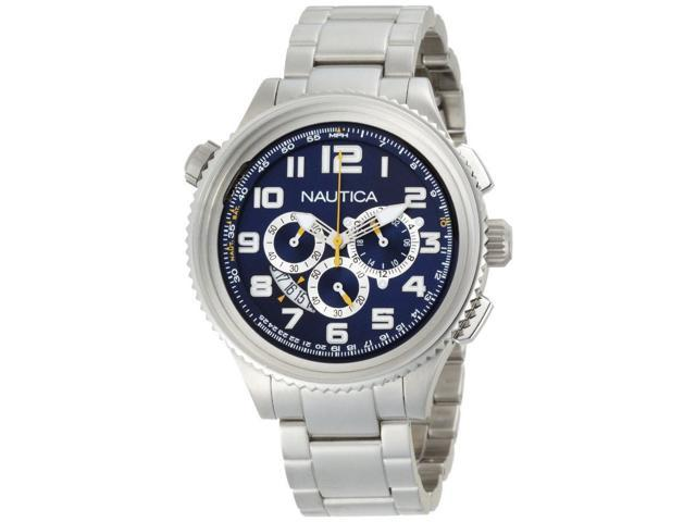 Nautica Chronograph Ocean 46 Blue Dial Men's watch #N29524GORIG