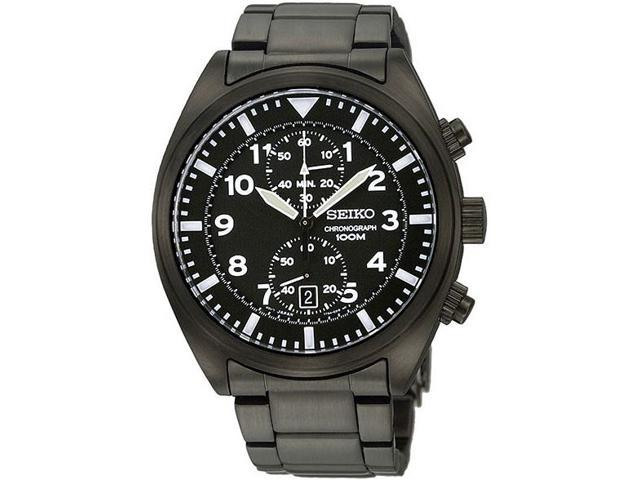 Seiko Chronograph Sports Mens Watch SNN233