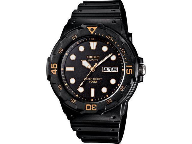 Casio MRW-200H-1EV Men's Classic 100M Dive-Inspired Analog Quartz Sports Watch