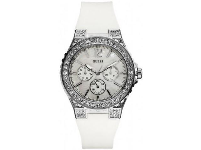 Guess Feminine Sport Silicone Ladies Watch U12653L1