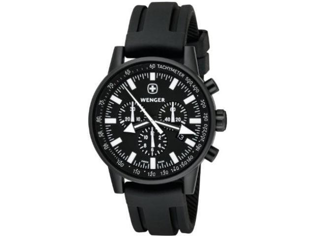 Wenger Commando Patagonian Expedition Race Black Dial Men's Watch #70890