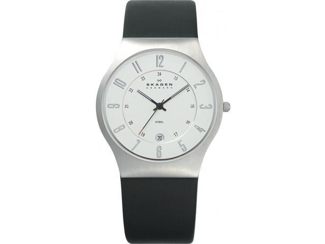 Skagen Denmark Stainless Steel Case Mens Watch 233XXLSLC