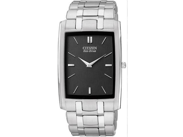 Citizen Eco-Drive Stiletto Black Dial Men's watch #AR3030-50E