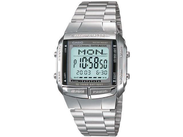 Casio DB360-1AV Mens Digital Databank Watch