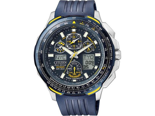 Citizen Eco-Drive Skyhawk Blue Angels Atomic Mens Watch JY0064-00L