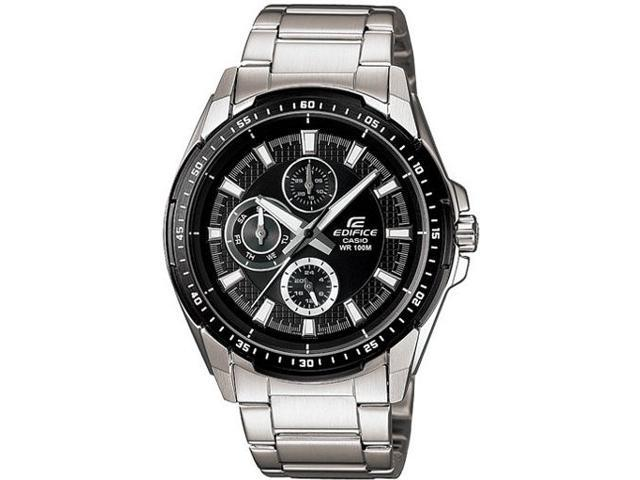 Men's Casio Edifice Day Date Watch EF-336DB-1A1V