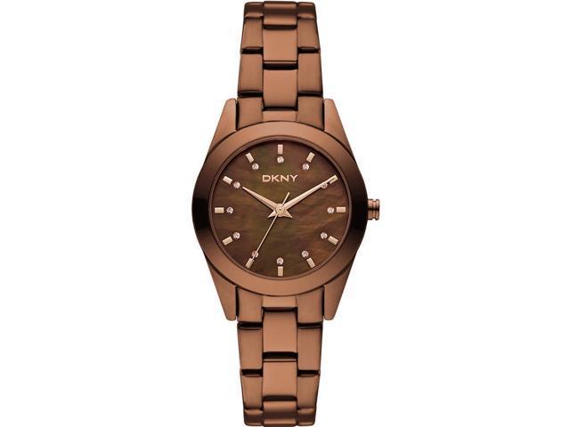 Women's Brown DKNY Glitz Steel Watch NY8621