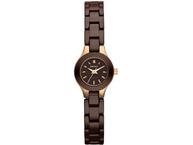 Women's Brown DKNY Ceramic Watch NY8646