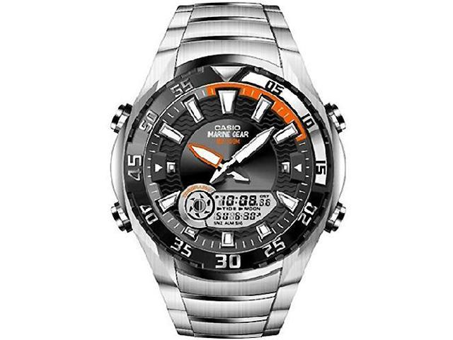 Men's Casio Marine Gear Tide Graph Watch AMW710D-1AV