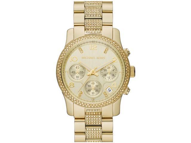 Women's Michael Kors Runway Chronograph Glitz Watch MK5826