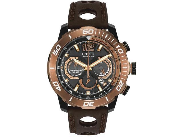 Citizen Eco-Drive Primo Stingray Leather Mens Watch CA4088-00E