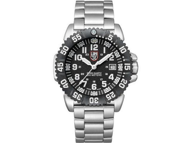 Men's Luminox Sea Colormark Diver's Steel Watch A.3152