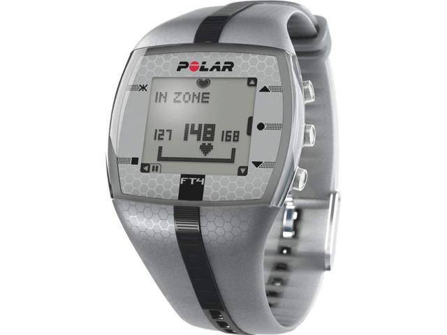 Polar Ft4 Silver/Black 90039178