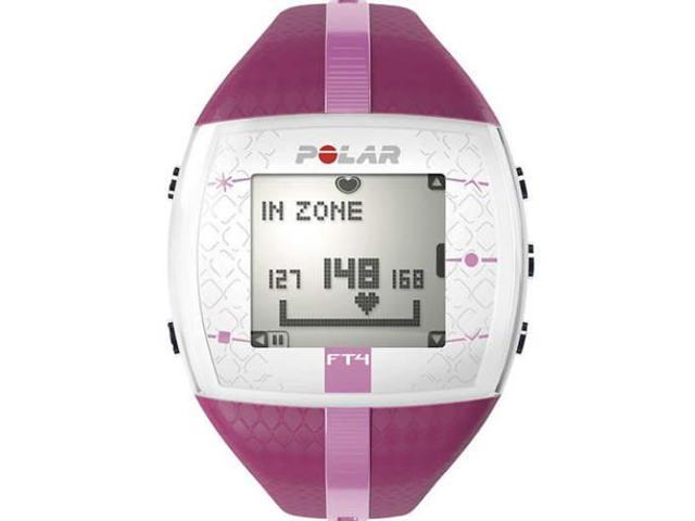 Women's Polar Heart Rate Monitor Fitness Watch FT4 PURPLE/PINK