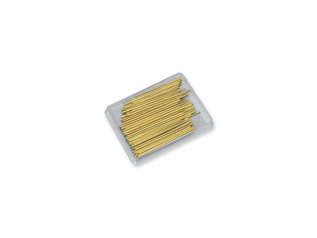 100-piece Brass Tapered Pin Assortment