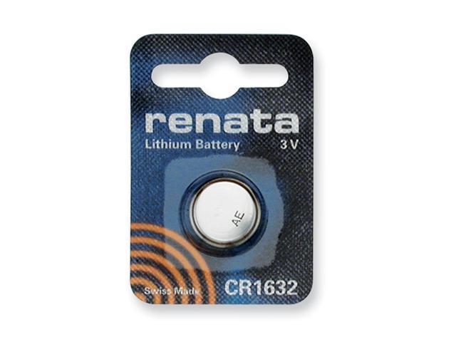 Single Type CR1632 Renata Swiss Lithium Battery
