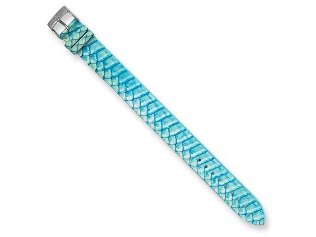 Moog Aqua Python Texture Snake Skin Watch Band