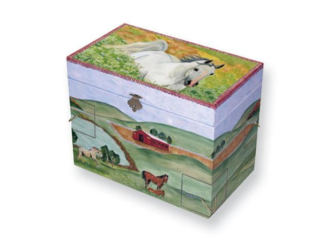 Childrens Hide Away Horse Musical Jewelry Box