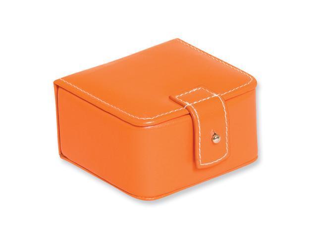 Orange Mini Jewelry Case