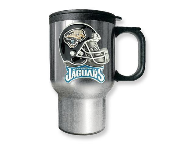 Jacksonville Jaguars 16oz Stainless Steel Travel Mug
