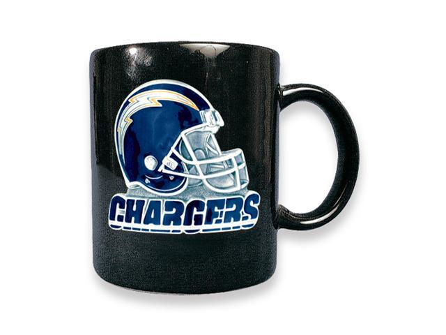 San Diego Chargers 15oz Black Ceramic Mug
