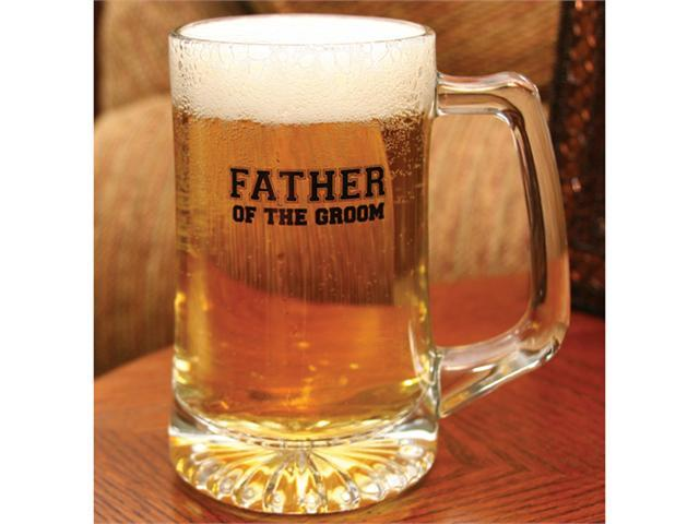 Glass Father of the Groom Mug
