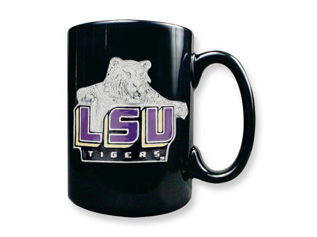 Louisiana State University 15oz Black Ceramic Mug
