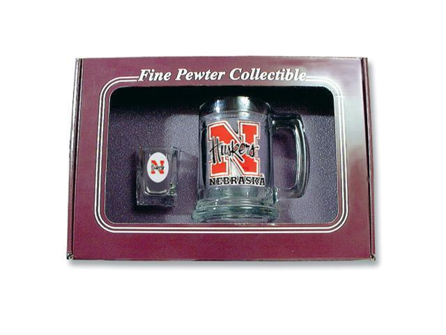 University of Nebraska Shot Glass and Mug Set