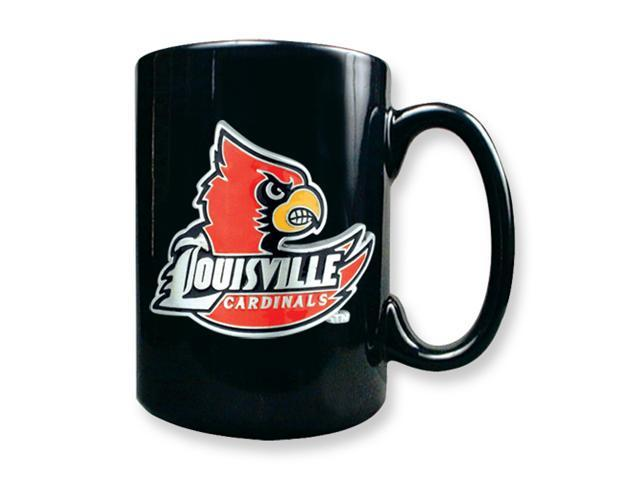 University of Louisville 15oz Black Ceramic Mug