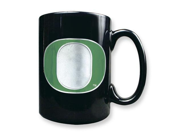 University of Oregon 15oz Black Ceramic Mug