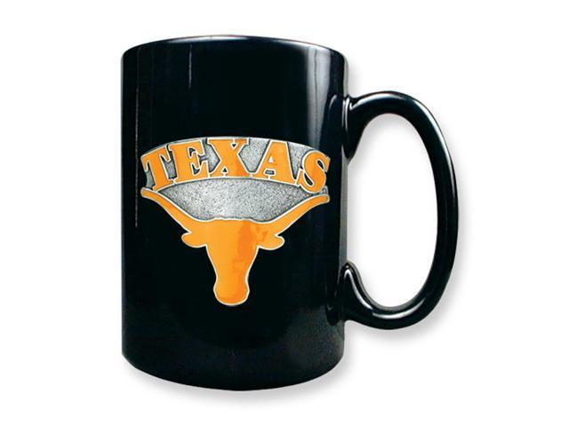 University of Texas 15oz Black Ceramic Mug