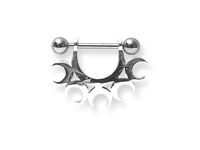 Surgical Stainless Stl BB w Nipple Shield