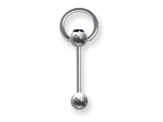 SGSS BB w Press Fit Ensl Gem Ball 14G (1.6mm) 5/8