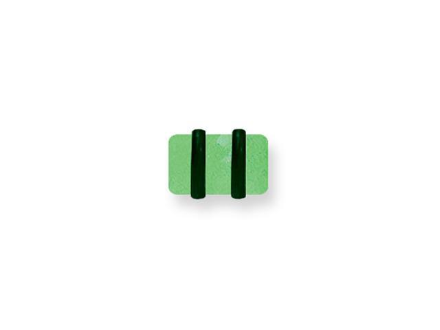 Acrylic UV Sensitive Glow in the Dark Plug w 2 Rubber O-Rings 2G (6.5mm)