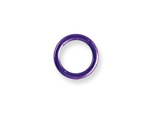 Solid Titanium Continuous (Seamless) Captive 10G (2.6mm) 7/16