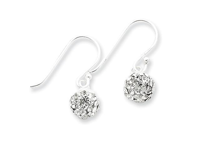 Sterling Silver w/ Swarovski Crystal Earrings
