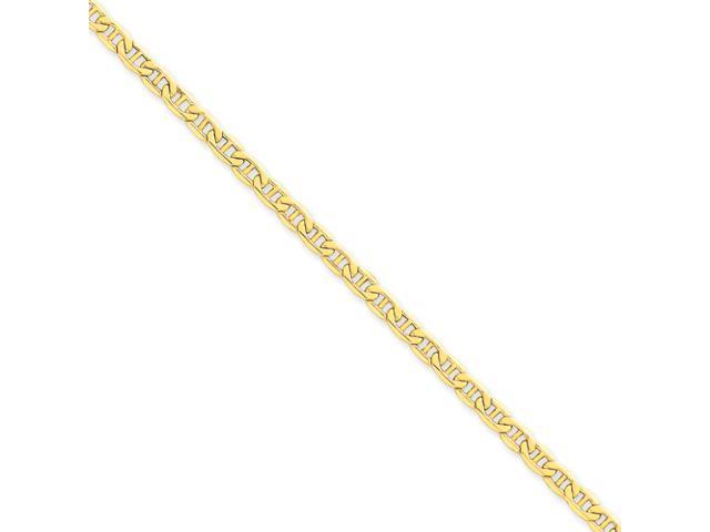 14k 4.1mm Semi-Solid Anchor Chain