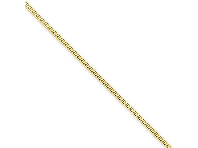 14k 1.8mm Flat Wheat Chain