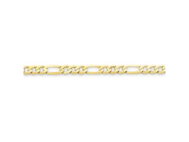 10k Light Figaro Chain